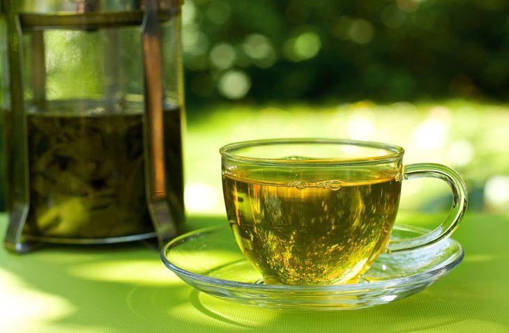 Lá trà xanh có công dụng rất tốt trong việc chữa bệnh