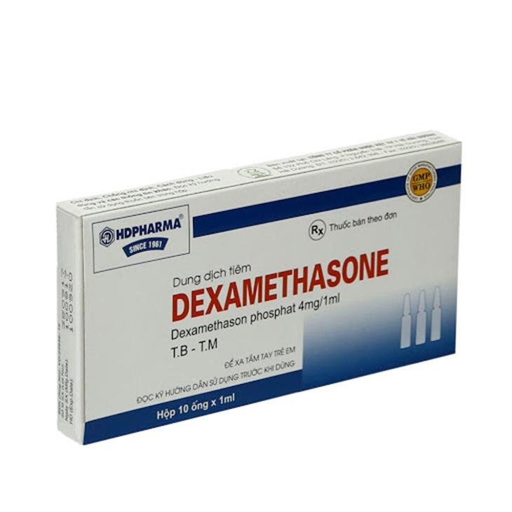 Dexamethasone ức chế sự tăng sinh của hormon Androgen, từ đó ngăn ngừa mụn tái phát
