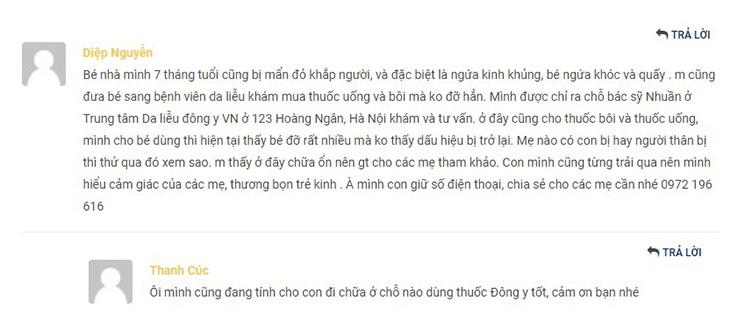 Bệnh nhân mách nhau tìm đến Trung tâm Da liễu Đông y Việt Nam chữa các bệnh về da