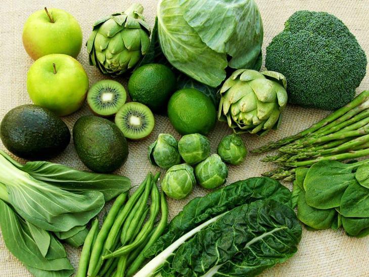 Bổ sung nhiều rau xanh giúp đàn ông tự tin hơn mỗi khi lâm trận