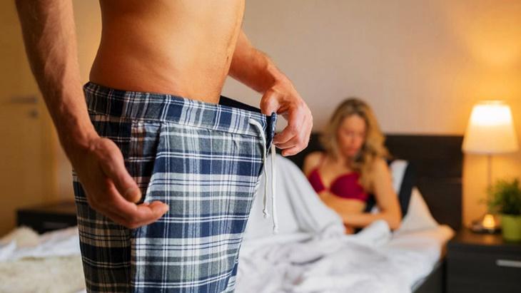 Rối loạn cương dương tạm thời làm suy giảm khả năng sinh lý ở nam giới