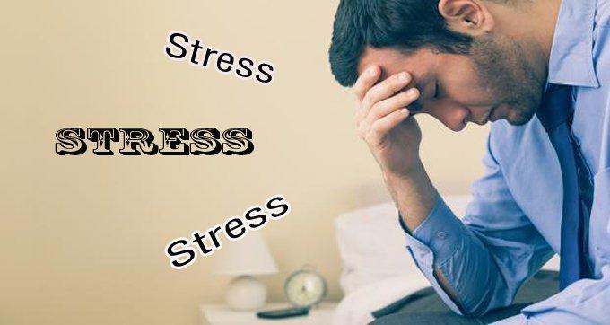 Căng thẳng, stress cũng có thể là nguyên nhân gây ra chứng rối loạn