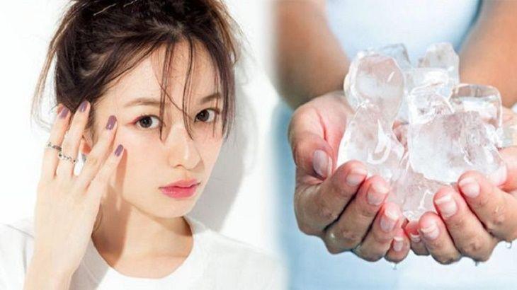 Đá lạnh sẽ giúp bạn giảm nhanh những cơn ngứa khó chịu