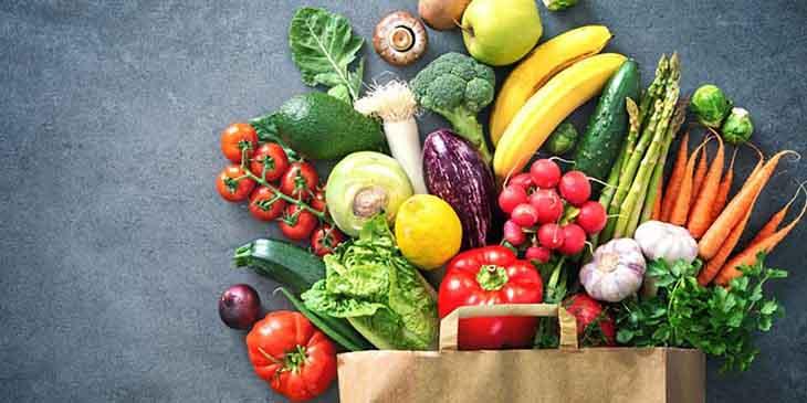 Ăn nhiều hoa quả, rau xanh cung cấp vitamin và chất kháng viêm