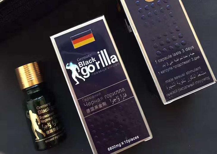 Hình ảnh thuốc cường dương của Đức Black Gorilla