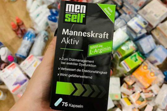 Hình ảnh thuốc cường dương của Đức Menself Manneskraft Aktiv