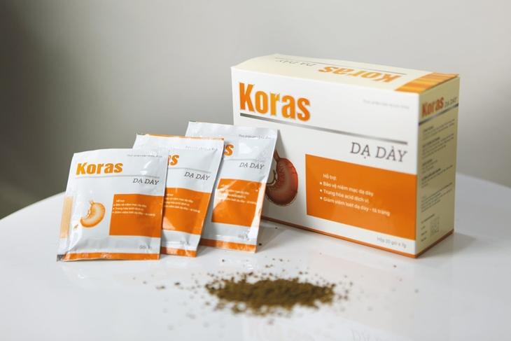 Tìm hiểu về công dụng, thành phần thuốc dạ dày Koras