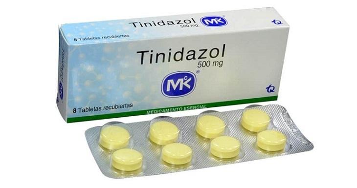 Thuốc trị viêm vùng chậu Tinidazole có tác dụng mạnh với các vi khuẩn trùng roi