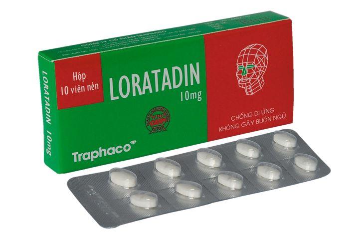 Hình ảnh thuốc Loratadin