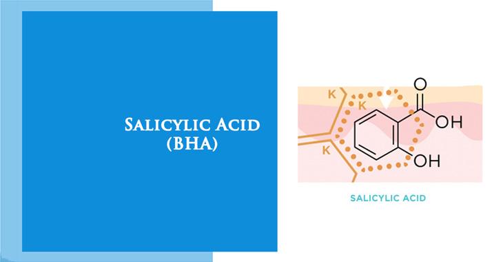 Công thức hóa học của Salicylic Acid