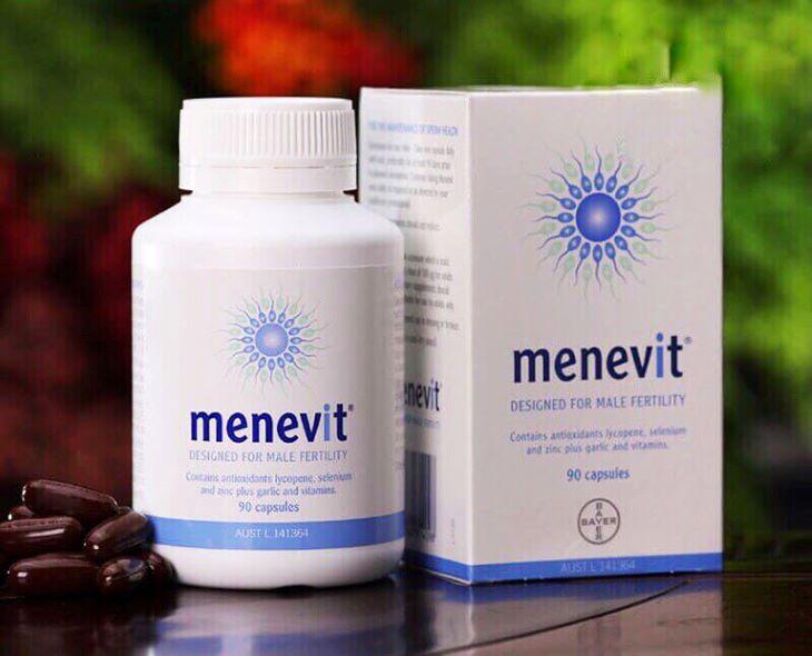 Hình ảnh thuốc tăng cường sinh lý nam của Úc Menevit