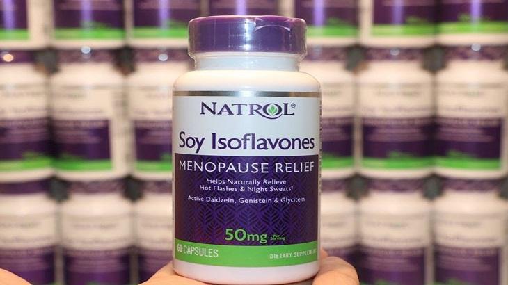 Natrol Soy Isoflavone - Thuốc tiền mãn kinh của Mỹ được tin dùng