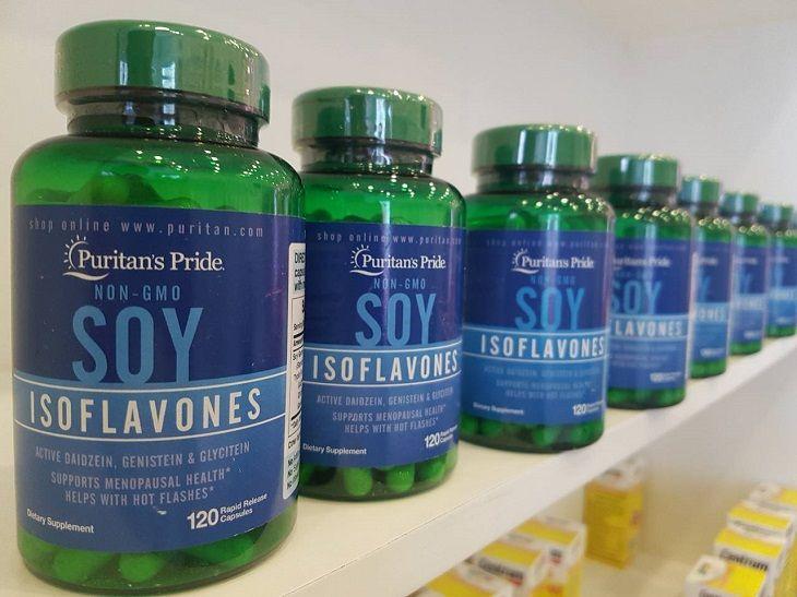Viên uống tiền mãn kinh của Mỹ Natrol Soy Isoflavone