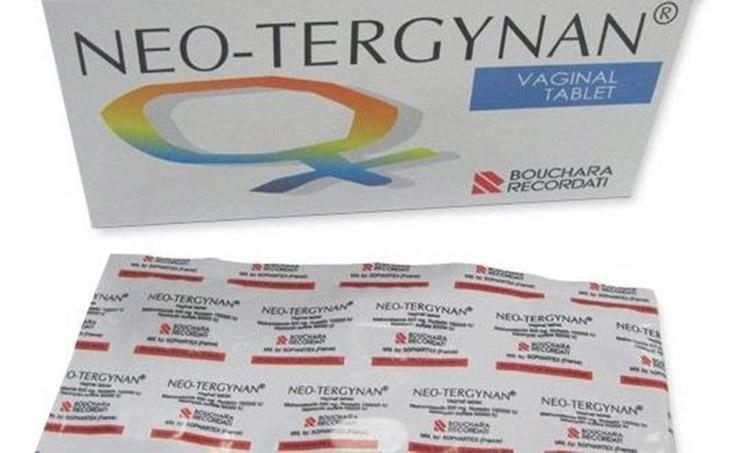 Neo-Tergynan - Thuốc trị nấm candida dạng đặt