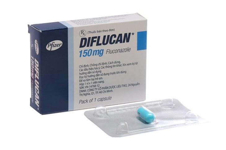 Diflucan - Thuốc trị nấm candida fluconazol