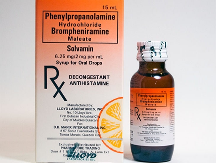 Thuốc trị ngứa da mặt Brompheniramine có tác dụng kháng viêm, ngứa hiệu quả