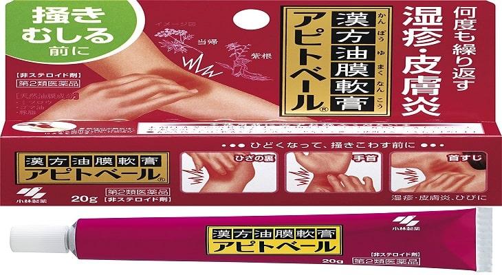 Thuốc trị ngứa da mặt Kobayashi 20g giúp dưỡng da và trị ngứa