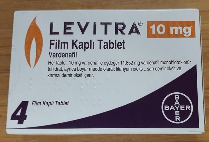 Thuốc trị rối loạn cương dương Levitra