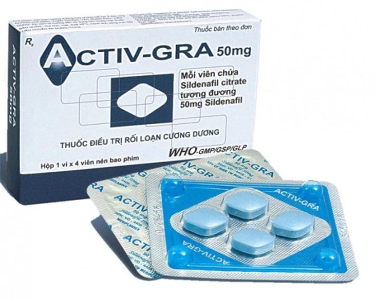 Thuốc trị rối loạn cương dương Activ GRA