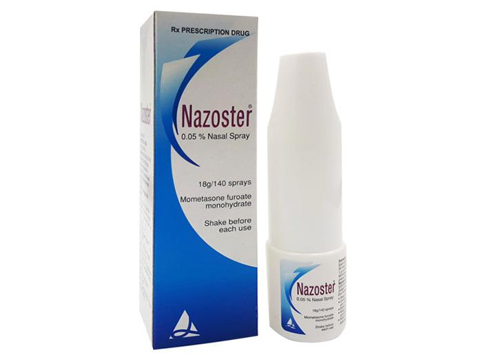 Thuốc xịt viêm mũi dị ứng Nazoster