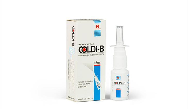 Thuốc xịt Coldi B