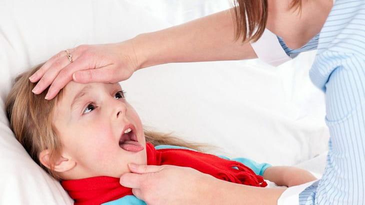 Trẻ bị viêm amidan sốt mấy ngày là thắc mắc của nhiều phụ huynh