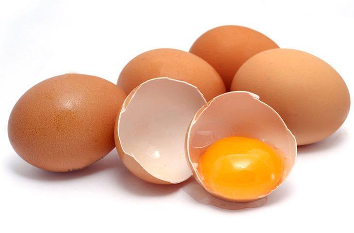 Lòng trắng trứng được sử dụng để trị mụn hiệu quả