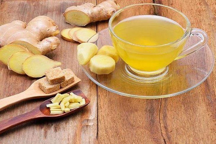 Uống trà gừng giúp làm ấm cơ thể, hỗ trợ điều trị bệnh hiệu quả