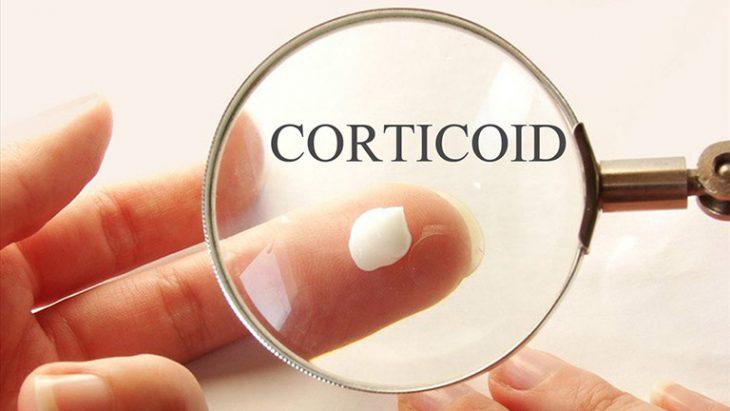 Corticoid được cho là có tác dụng nhanh trong trị vảy phấn hồng tuy nhiên cần sử dụng hết sức cẩn trọng