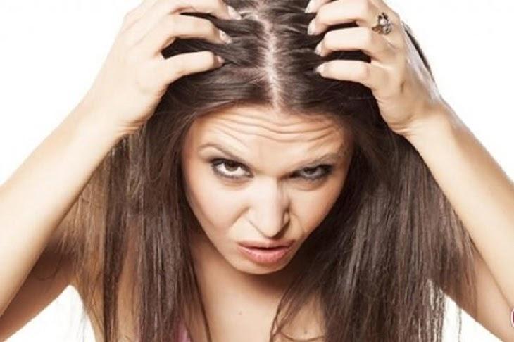 Người bệnh cảm thấy ngứa liên tục khi bị viêm da cơ địa ở đầu