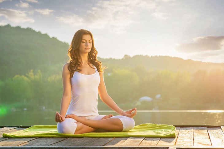 Tập yoga giúp cải thiện các triệu chứng bệnh hiệu quả