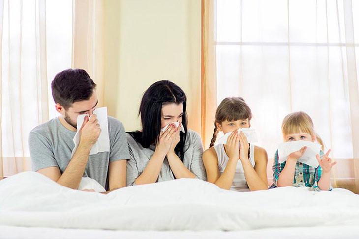 Viêm mũi dị ứng có liên quan đến yếu tố di truyền
