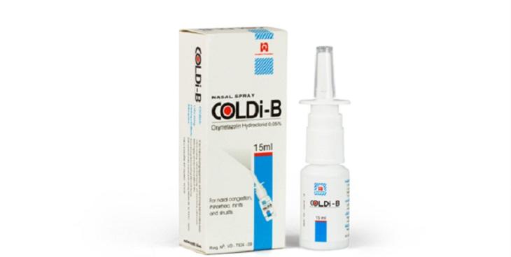 Coldi B 15ml làm dịu nhanh các triệu chứng viêm mũi dị ứng ở trẻ nhỏ
