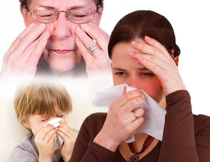 Viêm xoang mũi dị ứng khiến người bệnh cực kỳ khó chịu