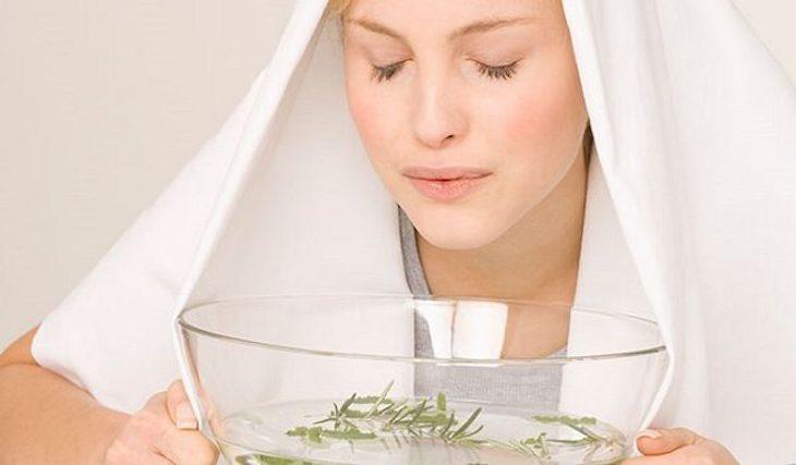 Xông hơi giúp tiêu diệt vi khuẩn, thông thoáng đường thở