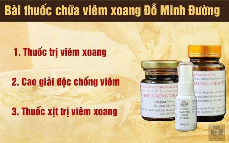 Bài thuốc chữa bệnh viêm xoang từ dòng họ Đỗ Minh