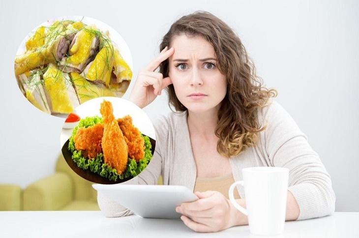 Có nhiều ý kiến cho rằng bị viêm xoang không nên ăn thịt gà