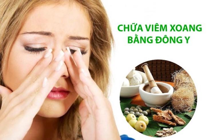 Đông y điều trị viêm mũi xoang dị ứng bội nhiễm