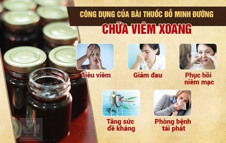 Hiệu quả bài thuốc nam gia truyền chữa viêm xoang của Đỗ Minh Đường