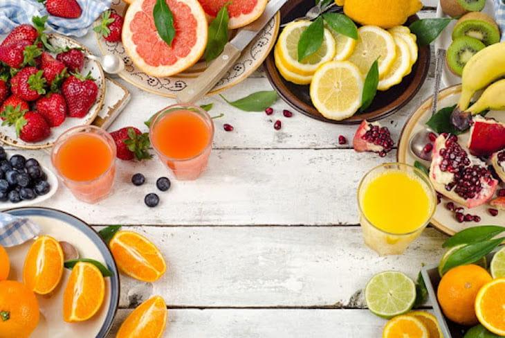 Bổ sung những thực phẩm tốt cho sức khỏe và hạn chế viêm xoang
