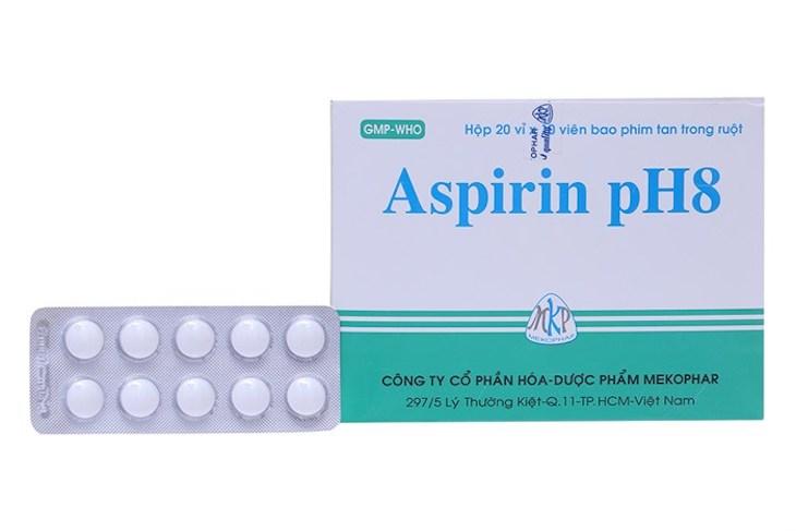 Viêm xoang trán uống thuốc gì - Aspirin pH8