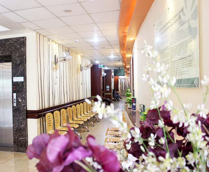 Bệnh viện đa khoa quốc tế có điều kiện cơ sở vật chất và trang thiết bị hiện đại