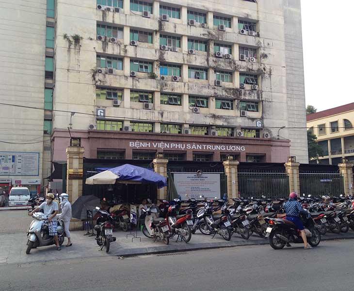Bệnh viện phụ sản Trung Ương là bệnh viện tuyến chuyên môn cao nhất về phụ sản ở nước ta
