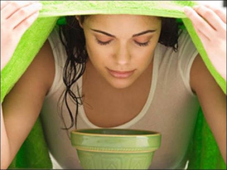 Xông hơi là cách chữa viêm mũi dị ứng bằng tỏi là phương pháp dễ thực hiện