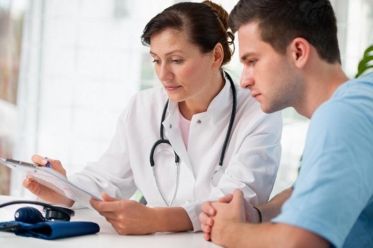 Người bệnh nên đi gặp bác sĩ càng sớm càng tốt để biết yếu sinh lý có nguy hiểm không?