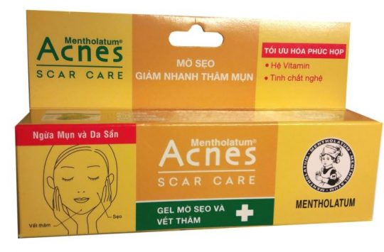 Hình ảnh kem trị thâm sẹo Acnes scar care