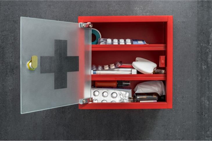 Bảo quản Anzela trong tủ thuốc gia đình hoặc nơi khô ráo