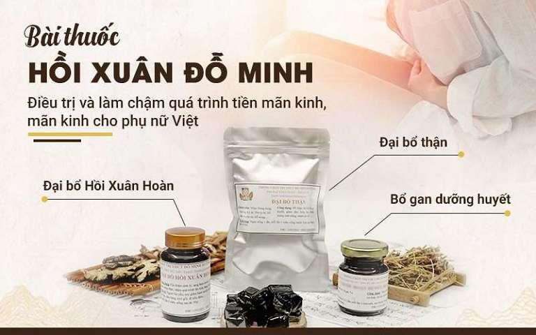 Bài thuốc Hồi xuân Đỗ Minh của nhà thuốc nam gia truyền 150 năm Đỗ Minh Đường
