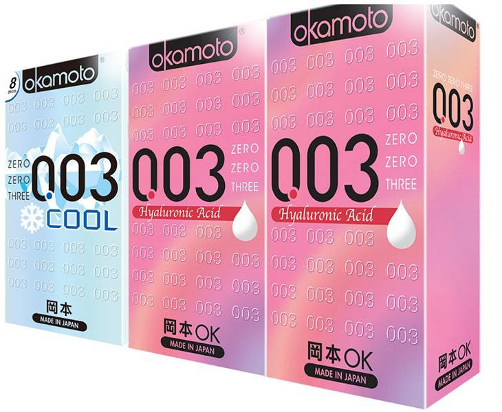 Bao cao su Okamoto 003 Hyaluronic Acid
