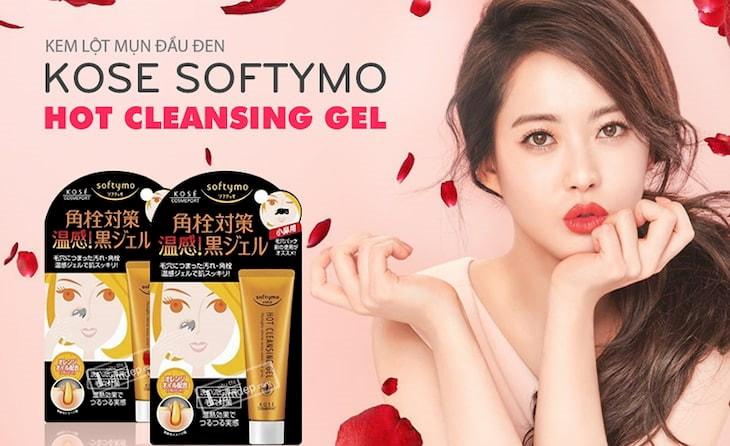 Gel lột mụn đầu đen Kose Softymo Hot Cleansing Gel là sản phẩm đến từ thương hiệu mỹ phẩm nổi tiếng của Nhật Bản